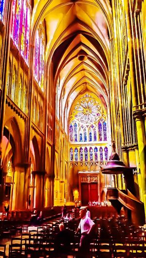 Cathedral Metz Church Architecture Built Structure Religion Spirituality
