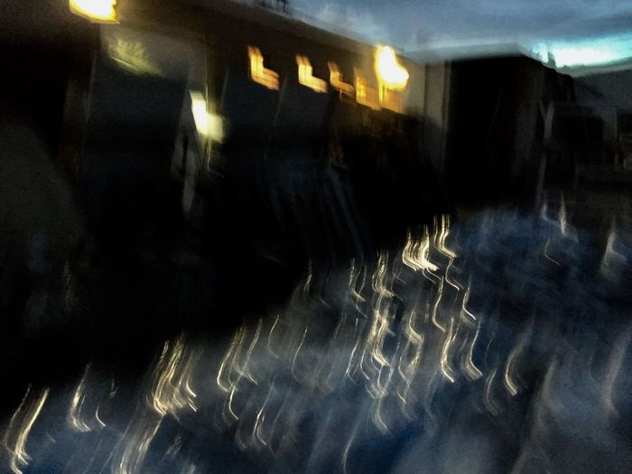 Illuminated Indoors  Night Blurred Motion Long Exposure No People Motion Close-up Abstract Photography Abstract