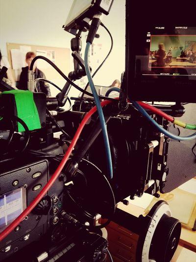 vart lite seg men här är en ny dag på inspl. Focuspuller Film Camera Arri Alexa Harads