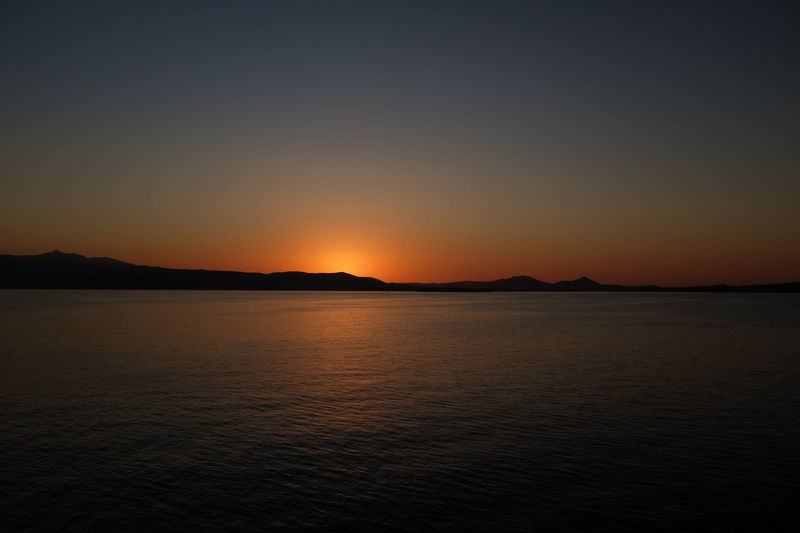 Calm Nature Paros Beauty In Nature Cyclades Greece Nature No People Outdoors Scenics Sky Skyporn Sunset Tranquility Water