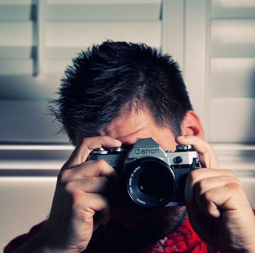 Canon AE-1 Portraits Of Men Photography SLR