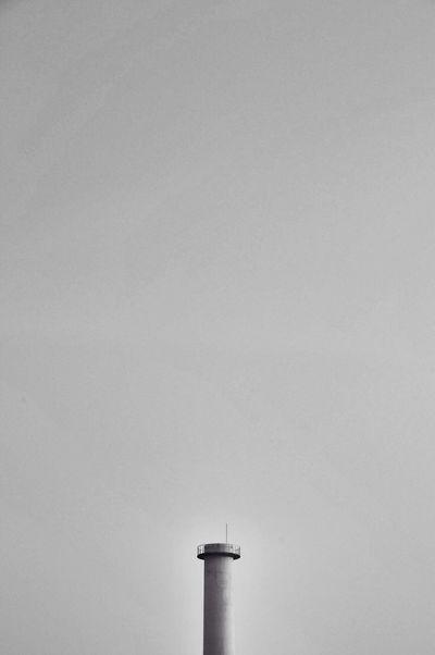 工場 Blackandwhite Sky