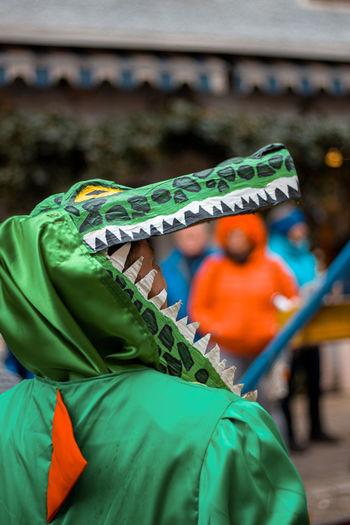 Crocodile costume - carnival