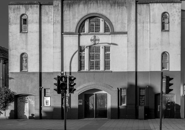 Church Hall, London Road, Brighton, Sussex Architecture Urban Street Brighton FUJIFILM X-T2 Sussex Monochrome Photography Black And White Church Hall