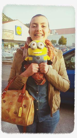 I Love Minions ♡♡♡ I Am Happy (: