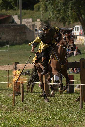 Homme Medievale Chevalier Joute Seigneur Cheval Middle Ages Autour De Chez Moi Photo Around You Moyen âge
