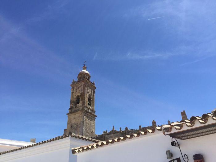 Low Angle View Of Iglesia Mayor Santa Maria La Coronada Against Sky