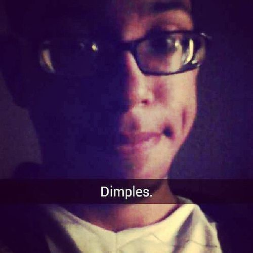 Everybody loves my dimples and idk why._. Dimples  Kikme Twofilters Whiteshirt  zeropoint