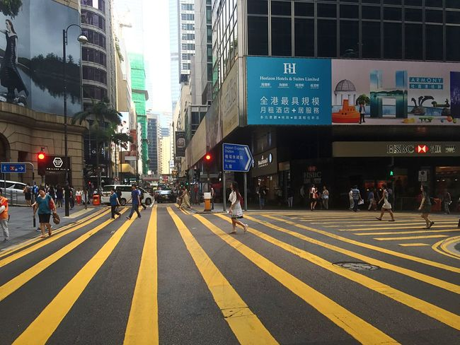 People Watching Walking Around Getting Inspired Street Of Hong Kong IPhoneography Pattern, Texture, Shape And Form Street Photographer-2016 Eyem Awards Sun And Shadow Hong Kong Street Light And Shadow Walking Around People Watching City In Morning