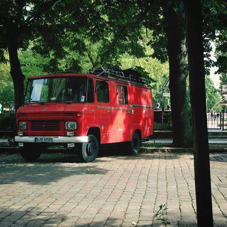 Car Red Mercedes Vintage Cars