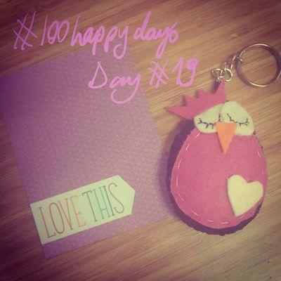 100happydays day 19 Instagood Instamood Love Tweegram Photooftheday Picoftheday Cute Bestoftheday Igers Like Friday Owl Lovethis Felt DIY
