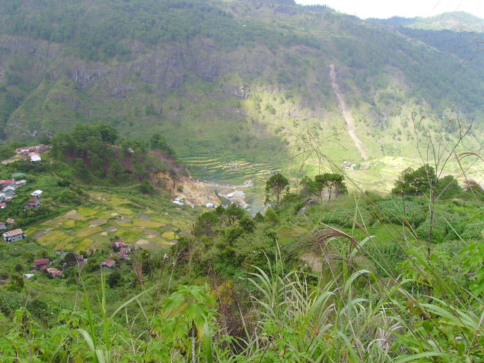 Banawe Green Mountains Located At Mountain Range Mountain View Philippines Rice Patties Rice Terraces
