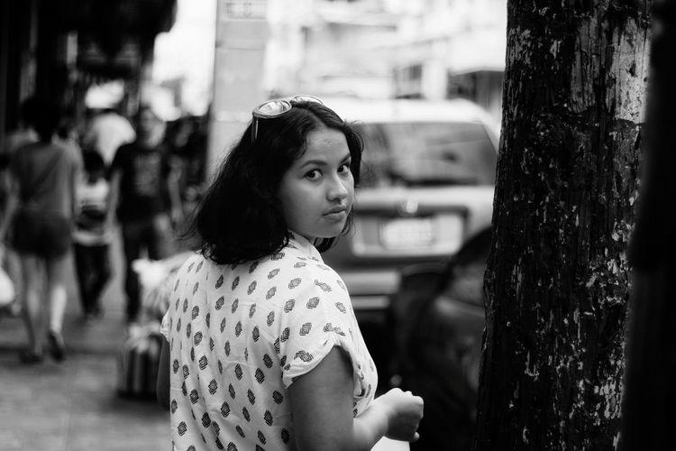Mirada Photography Streetphotography EyeEmNewHere EyeEm Best Shots EyeEm Selects Caribbean Shop City Young Women Women Beautiful Woman Portrait Happiness City Street Moving Crosswalk Street Street Scene International Women's Day 2019 The Portraitist - 2019 EyeEm Awards