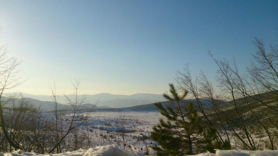 Vucje, Nikšić, Montenegro, Snow ...