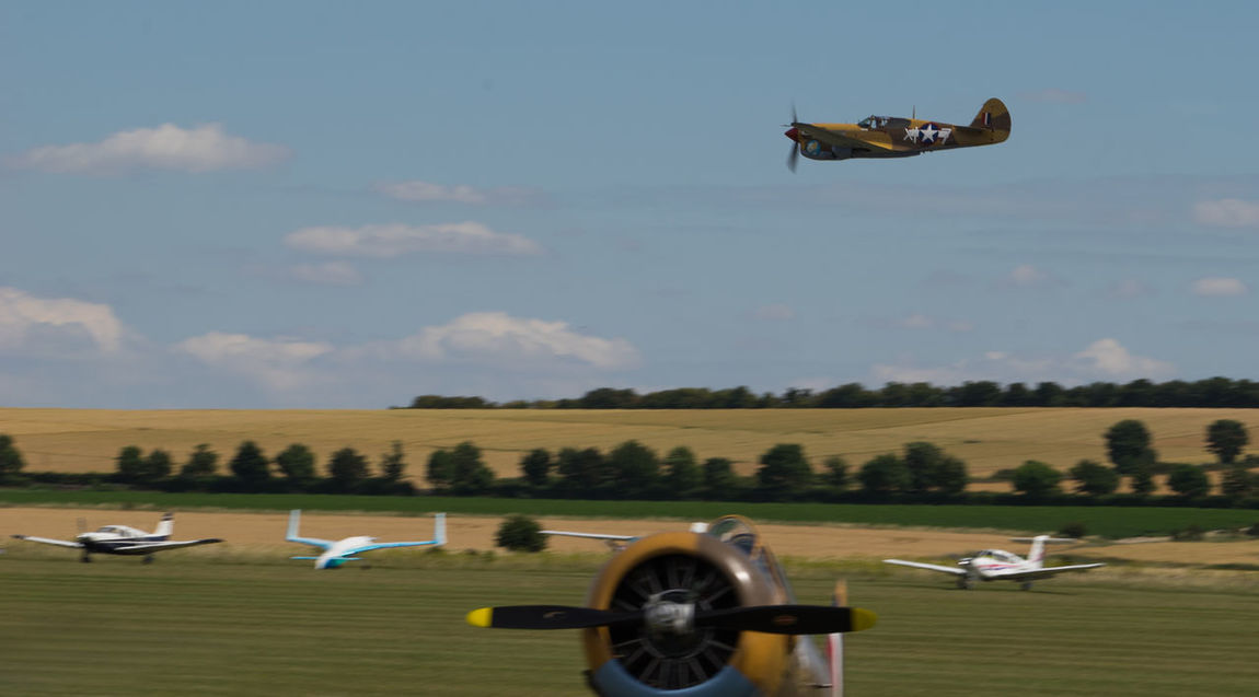 Warhawk P40F Duxford Air Show Duxford Imperial War Museum Plane Raw SONY A7ii Aircraft Wing French Manfrottobefree Spotter Warbird Ww2 Zeiss