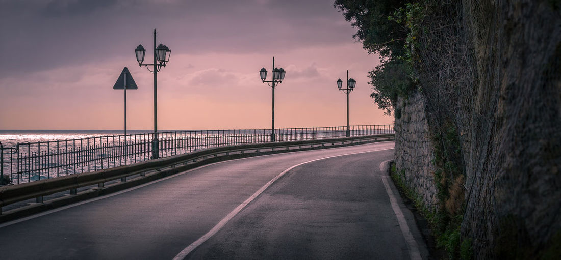 Road to sea.