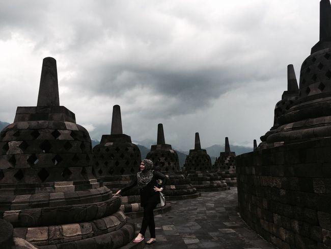 Borobudur temple That's Me Love Indonesia Enjoying Life Borobudur Temple, Indonesia My Country