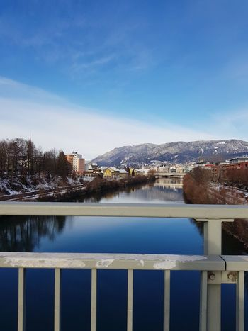Snow Winter Villach Austria Lake Beauty Peace
