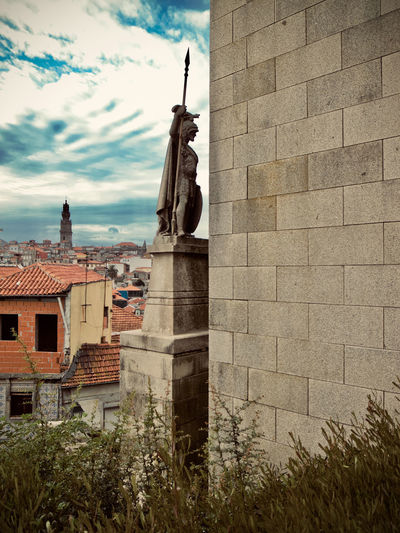 City Cityscape Oporto, Portugal Portugal Architecture Belief Building Building Exterior Built Structure City Cloud - Sky Color Day History Nature No People Outdoors Place Of Worship Religion Sky Spirituality The Past Travel Destinations
