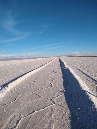 Clear Sky Blue Salt Basin