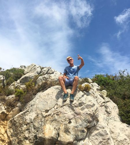 SPAIN Holiday Boy Fun Rock Travel Beauty In Nature Hiking Adventure Sky Childhood Person Enjoyment Happy Laugh Laughing Lifestyles