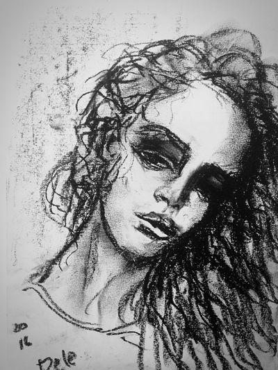 Alex Pele My Hobby Portrait Art Practice My Art Girls
