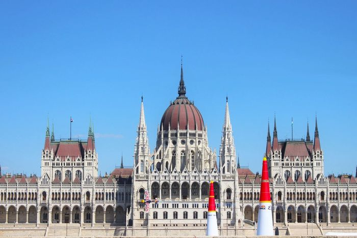 Red Bull Air Race, Budapest Budapest Budapest, Hungary Red Bull Red Bull Air Race Budapest Parliament Plane Race Architecture Government Clear Sky Dome City Travel Destinations Travel Sky Outdoors Day Building Exterior EyeEmNewHere