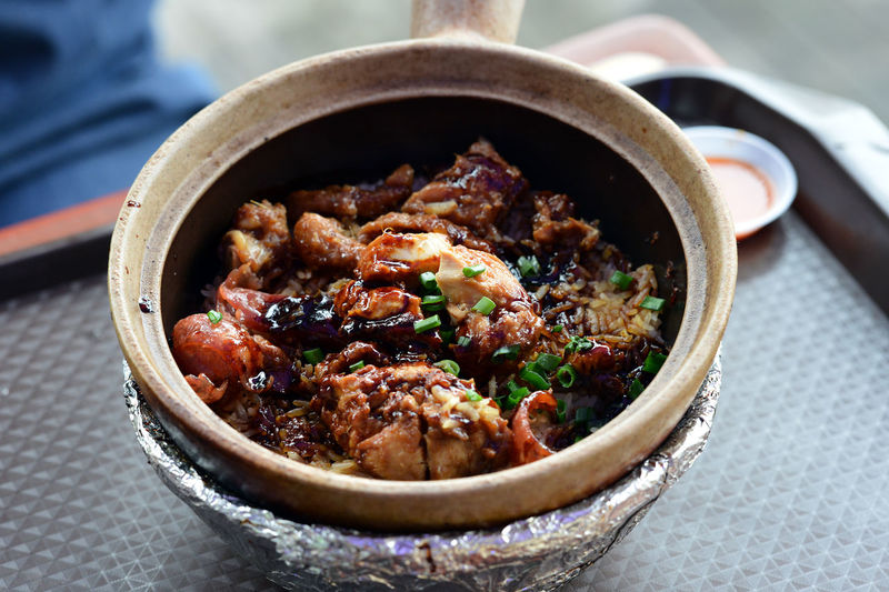 Bowl Claypot Close-up Day Freshness Indoors  Lunch No People Ready-to-eat Rice