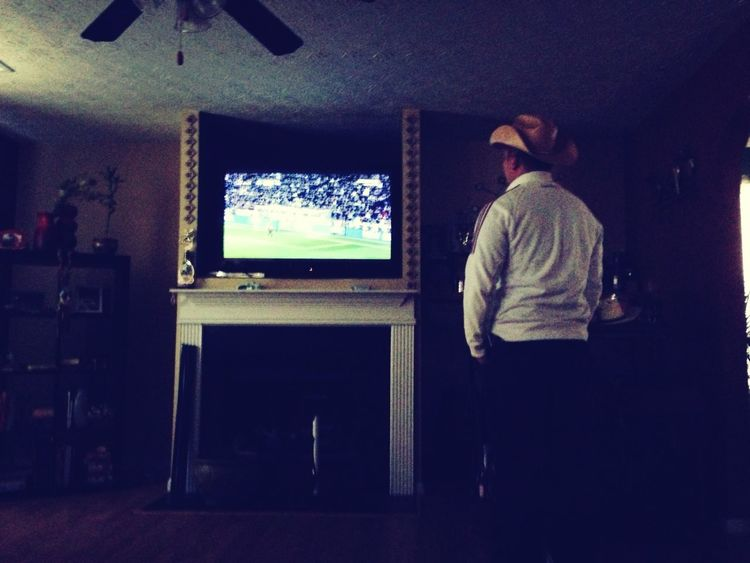Watching The Game