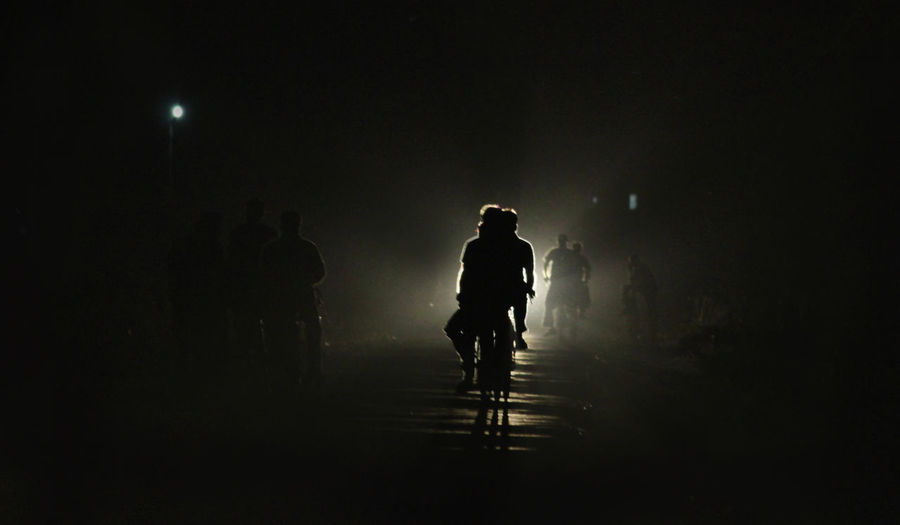 way to home! Backlight Canon 600D Canon Photography Cycling Dark Eye Em Around The World Eye Em Best Shots Eye4photography  EyeEm EyeEm Best Shots EyeEm Gallery EyeEmBestPics Illuminated Lifestyles Light And Shadow Motor Lights Night Nightphotography People Road Rural Life Way To Home