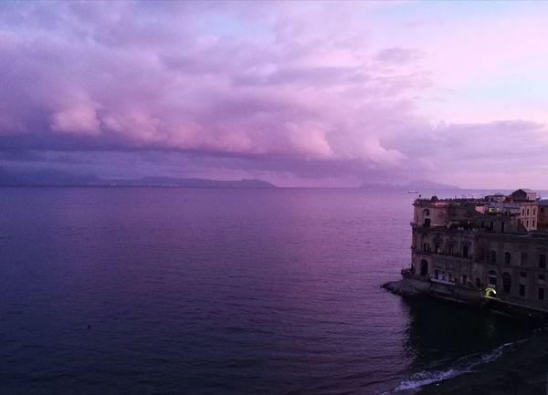 Naples, Italy Bay Of Naples, Italy. Palazzo Donnanna