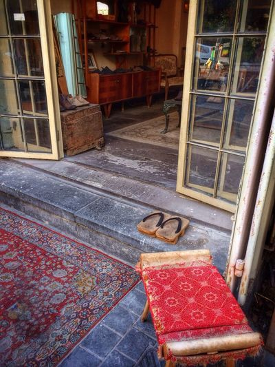 Japanese traditional footwear, GETA at the shoe shop. Y's Travel Photo Diary Day27
