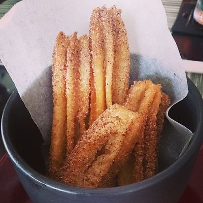 Churros for dessert