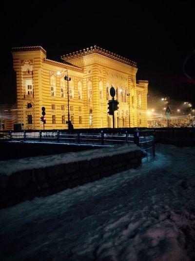 Arhitecture Historical Building Sarajevo
