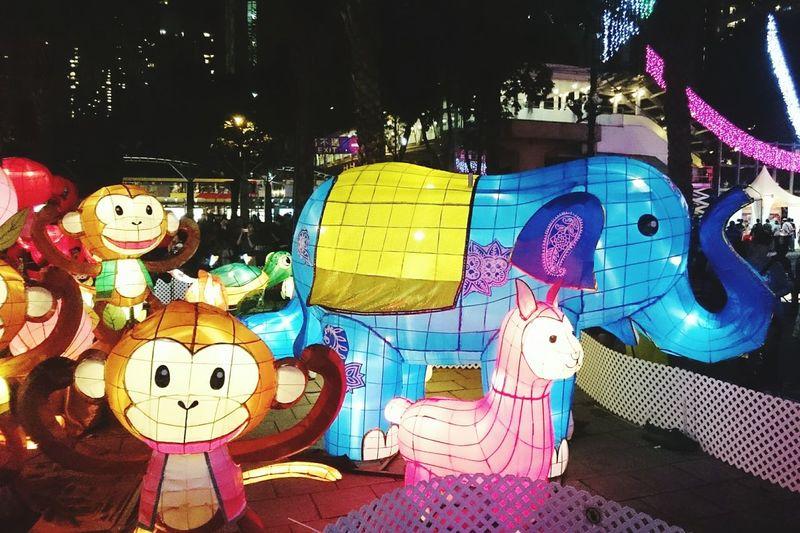 Multi Colored Collection Colorful Lights Tradition Tin Hua Firedragon 137th Tin Hau Fire Dragon Tai Hang Firedragondance Night City Life