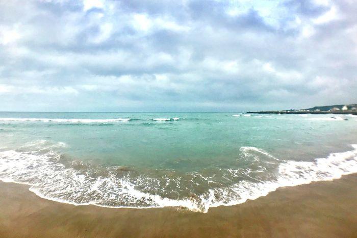 I've almost forgot how beautiful in Taiwan EyeEmNewHere Taipei Taiwan Beach Water Sea Beach Sky Land Cloud - Sky Beauty In Nature Horizon Nature Sand Wave Outdoors First Eyeem Photo