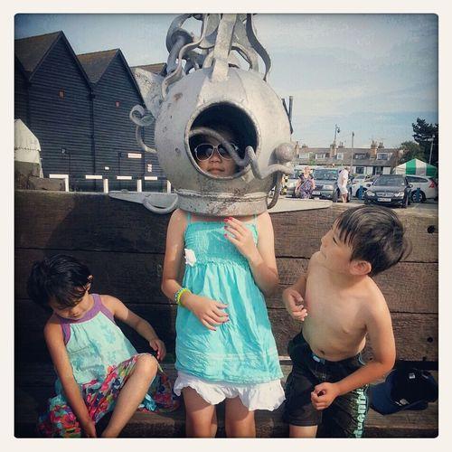 Whitstable, Kent Summer Holidays 2014 Exploring Learning Something New Everyday Having Fun ☀