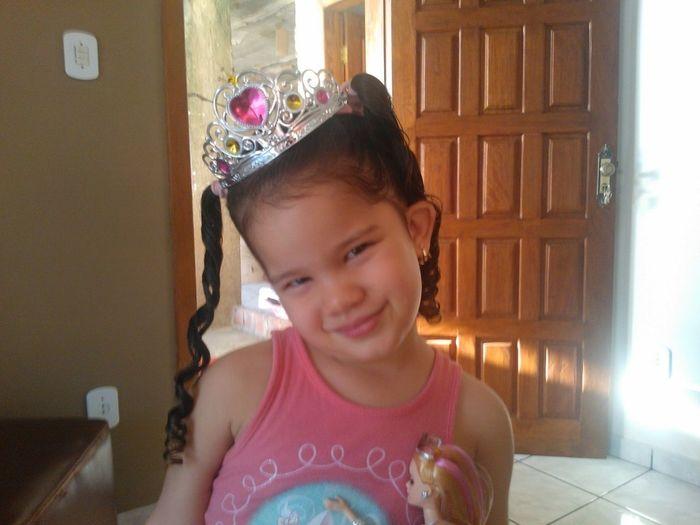 Nossa Princesa...mais Linda Do Mundo!!!.