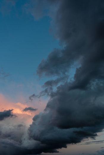storm vanishes