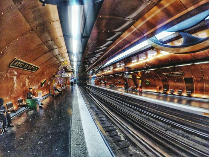 Subway Public Transportation Metro Rise