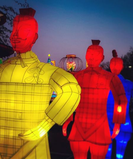 Chinese Soldier Lights Of The World Lanterns Lanternfestival