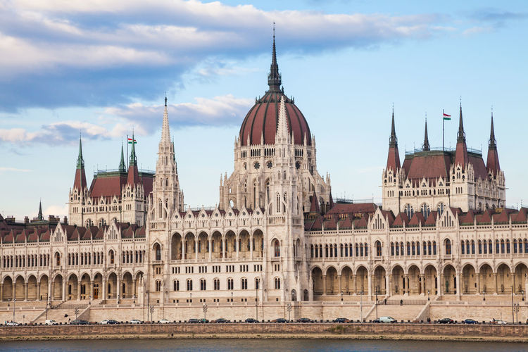 Hungarian Parliament Building Against Sky
