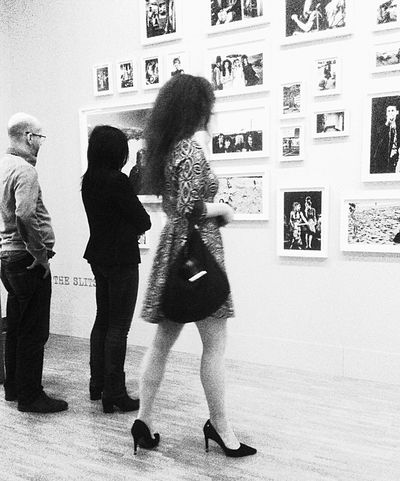 Getting Inspired Exhibition Playing With Apps  Black And White NEM Black&white What Did You Do Last Saterday... Anton Corbijn Exhibition Music Musicians Life = Music = Life