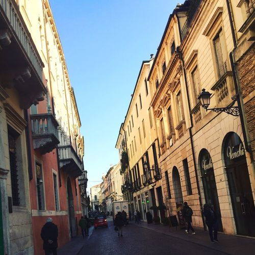 Stunning streets of Vicenza Italy! Outdoors Street City Sky Views Travel First Eyeem Photo