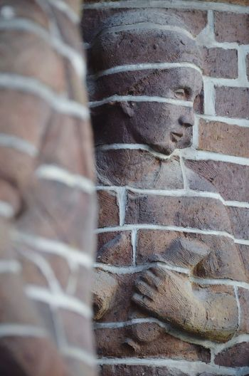 Full Frame Backgrounds Textured  Close-up Historic Statue Sculpted Carving - Craft Product Sculpture