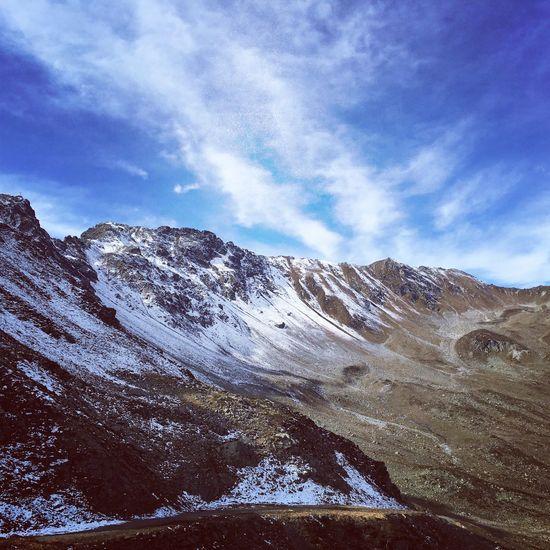 Hiking in Austria. I ❤️ Montafon / Vorarlberg. Mountain Beauty In Nature Season  Sky Non-urban Scene Nature Tourism