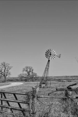 Blackandwhite Windmill Rural Scenes EyeAmRuralAmerica Bw_collection EE_Daily: Black Sunday