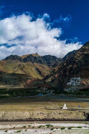 Karsha or Kursha Gompa in Zanskar valley Folk Gompa India Jammu And Kashmir Karsha Kursha Ladakh Landscape Leh Monastery Mountain Nature Padum Travel Zanskar