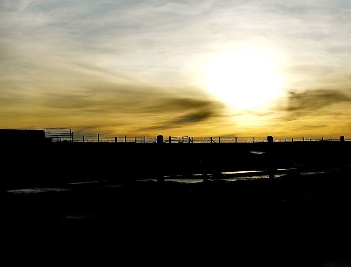 car park Architecture Built Structure Cloud - Sky Day Harray, Orkney Nature No People Outdoors Silhouette Sky Sunset Water