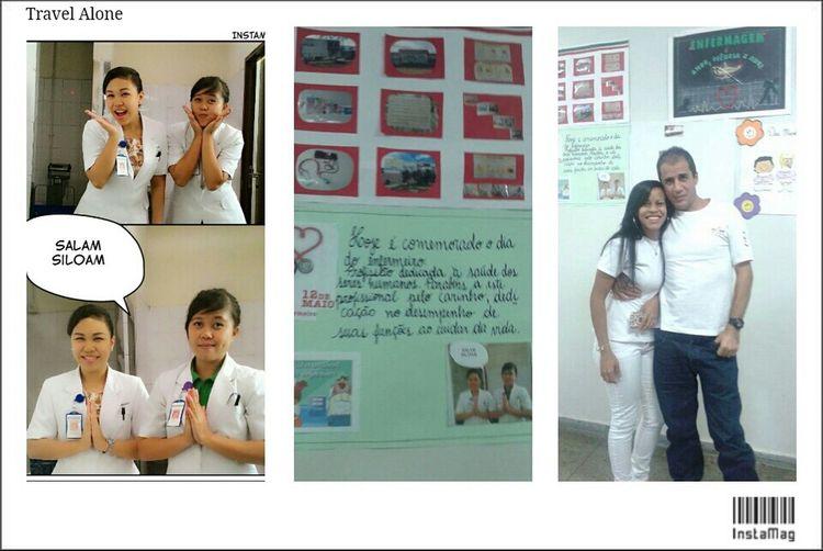 Me&my_partner Nutritionist Dietitian Greeting siloam_hospitals_manado From  Friend Bolivia Brazil Be A Good Nurse